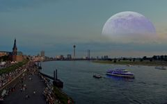 der Mond ist aufgegangen :)