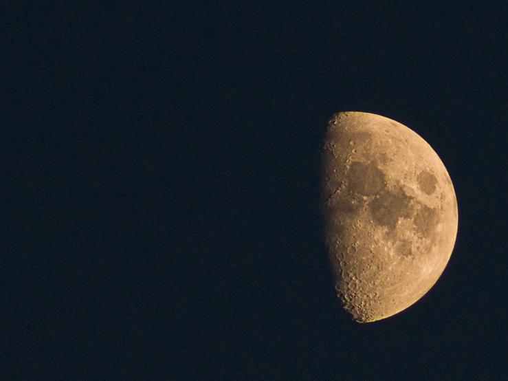 der Mond mal wieder