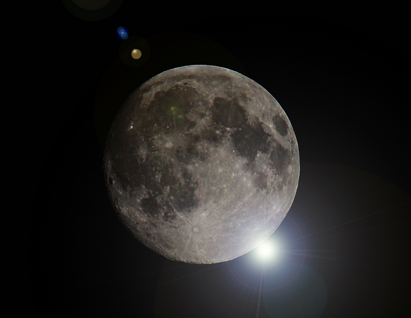 Der Mond mit