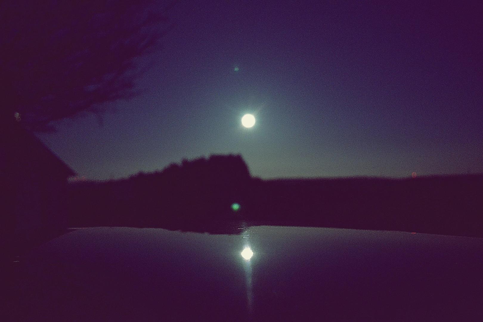 Der Mond - & ne optische Täuschung
