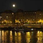 Der Mond über Budapest...