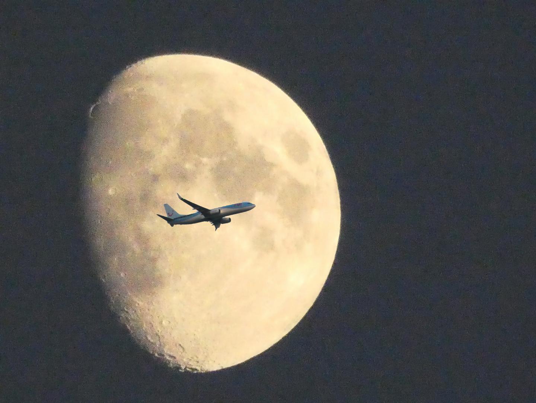 Der Mond über Zweibrücken