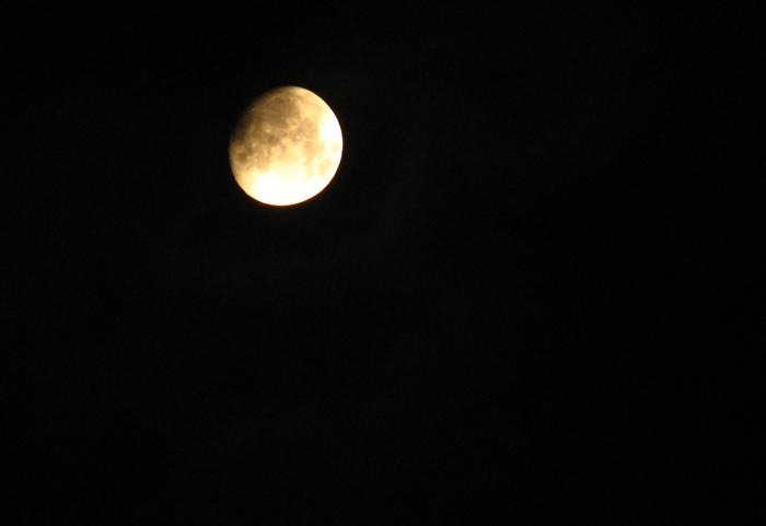 Der Mond vom 4.10.2006