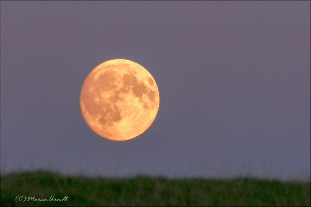 Der Mond von gestern