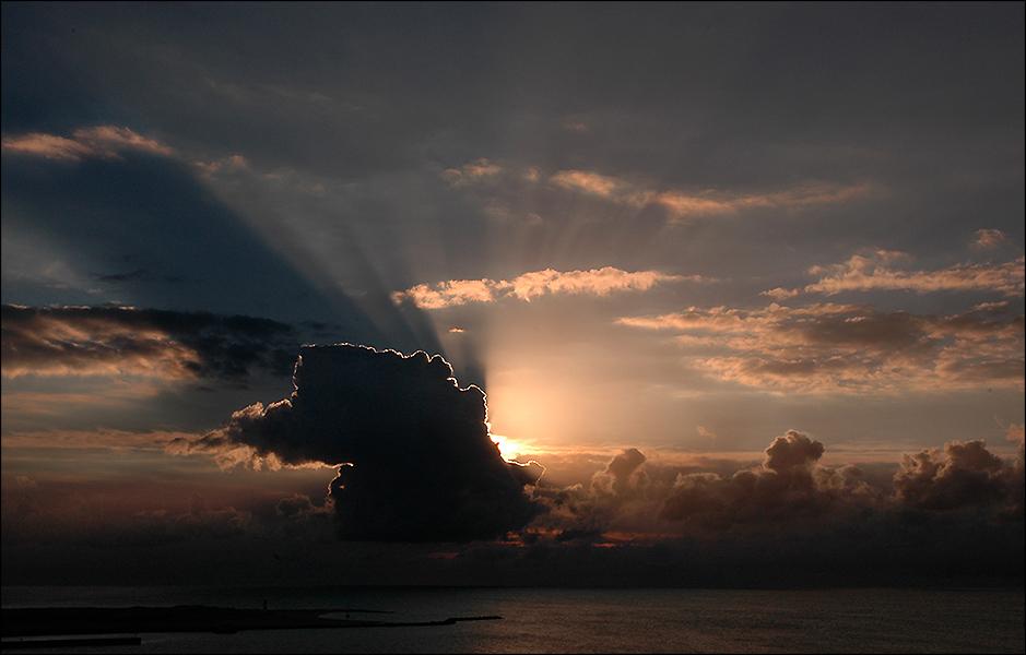 Der Morgen beginnt….!
