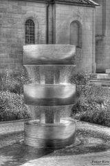 Der Münsterbrunnen....