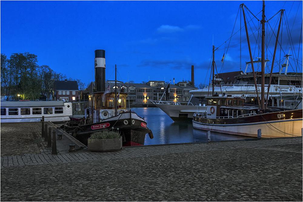 Der Museumshafen von Leer