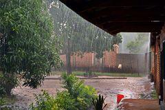 Der Nachmittagsregen