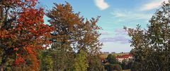 Der Name Schönwald (Krasny les) ist hier sehr zutreffend...