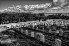 Der National Cemetery....