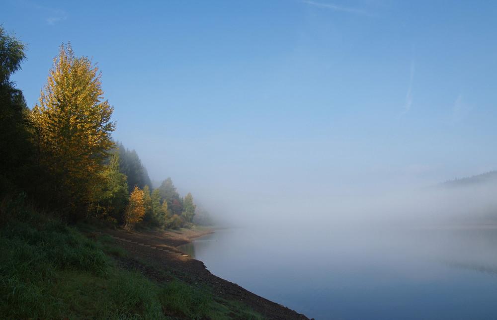 Der Nebel geht