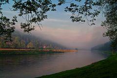 Der Nebel verschwindet