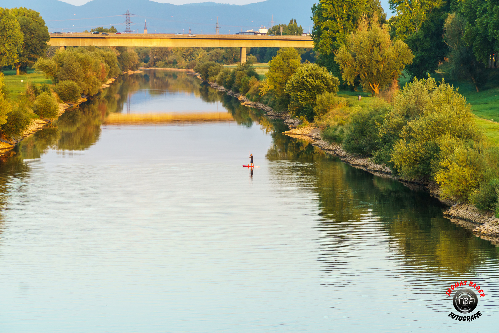 Der Neckar ...