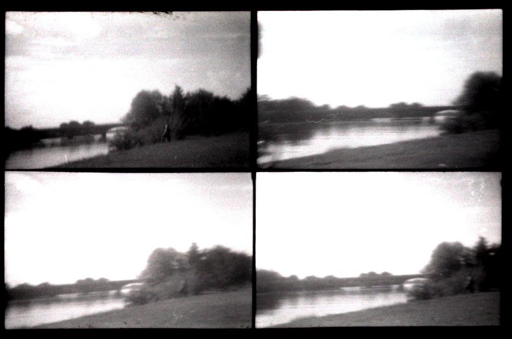 Der Neckar bei Ladenburg