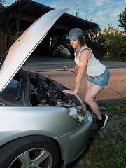Der neue Automechaniker ...