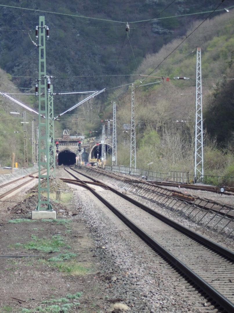 Der neue DB Tunnel in Ediger-Eller (Mosel)