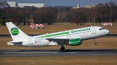 Der neue Germania-Jet