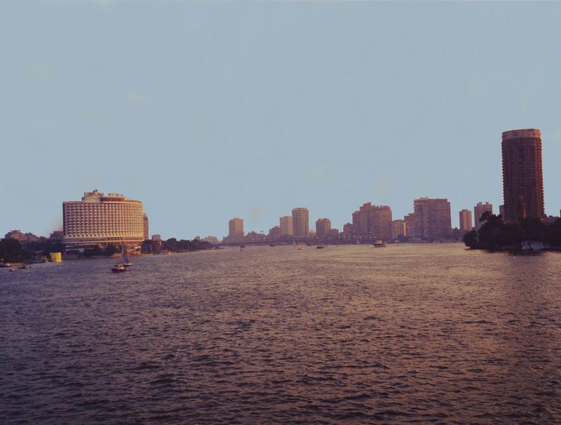 ... der Nil bei Kairo im September