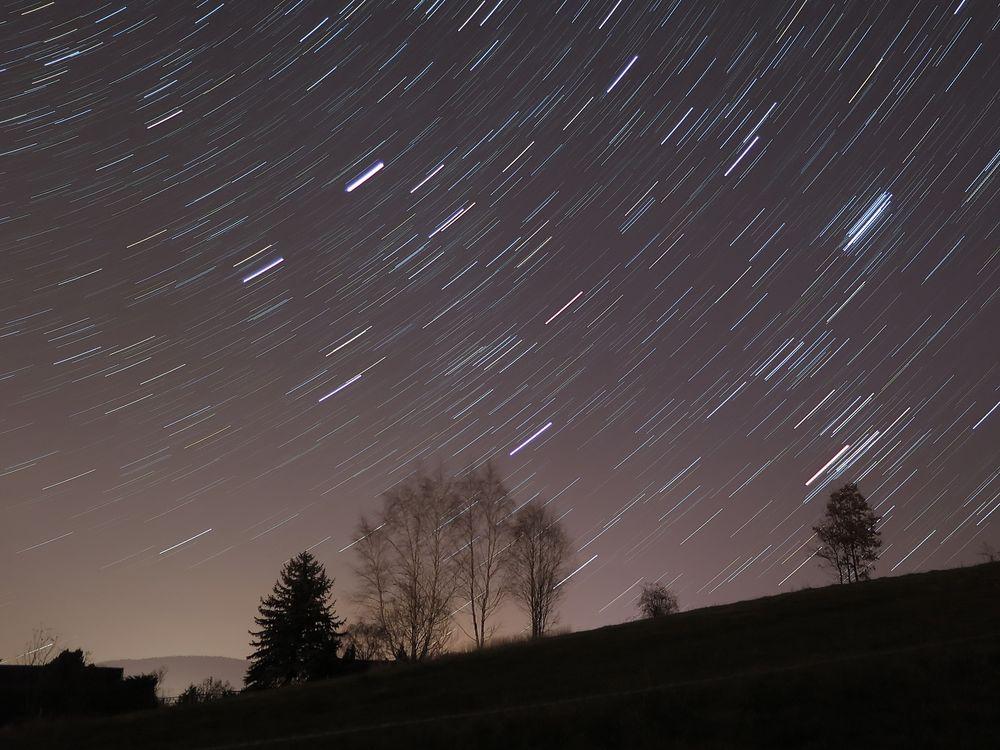Der November-Sternenhimmel im Vogtland.....