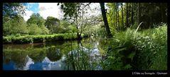 Der Odet im Stangala Tal nahe Quimper
