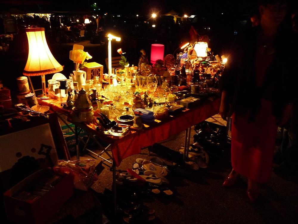 Der Oldenburger Pferdemarkt bei Nacht - Nachtflohmarkt 2010