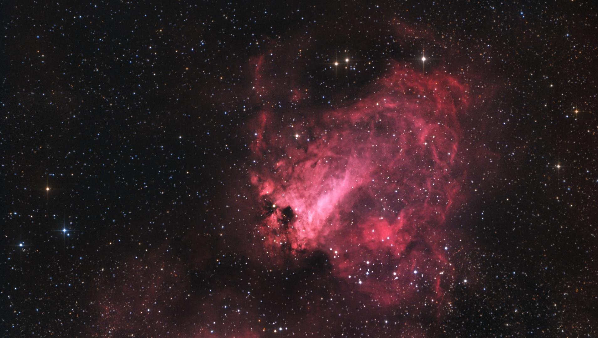 Der Omega-Nebel im Sternbild Schütze