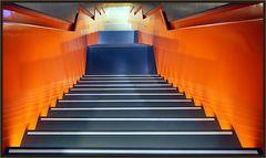 Der orange Abgang
