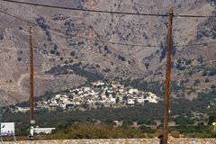 Der Ort Mariou, Kreta