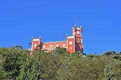 Der Palacio Nacional da Pena in Sintra