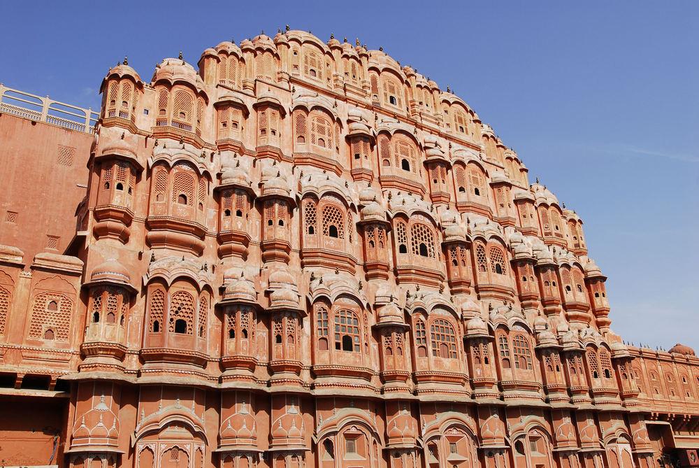 Der Palast der Winde in Jaipur