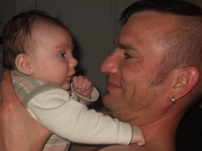 Der Papa mit dem Sohnemann