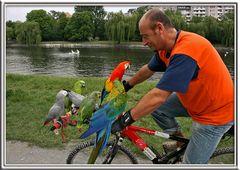 Der Papageienmann....