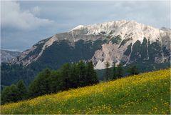 Der Paresberg über Wengen/La Val