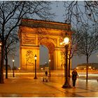 Der Pariser Triumphbogen