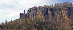 Der Pfaffenstein in der Sächsischen Schweiz ist für mich mit der Barbarine...
