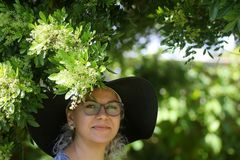 der Pfefferbaum blüht