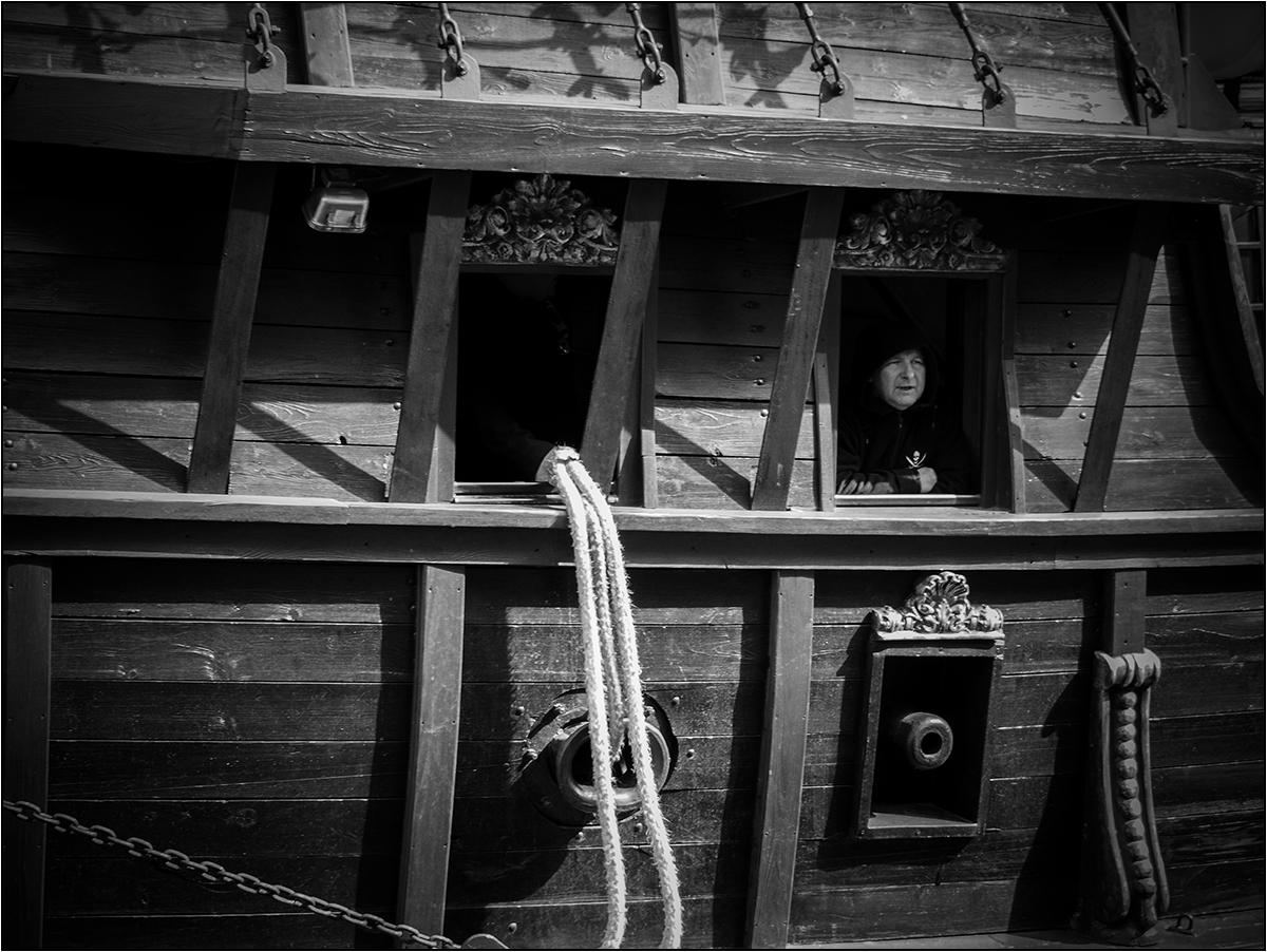 Der Pirat und seine Kanone ...