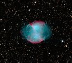 Der planetarische Nebel M 27 (Hantelnebel)