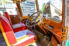 Der Platz des Busfahrers