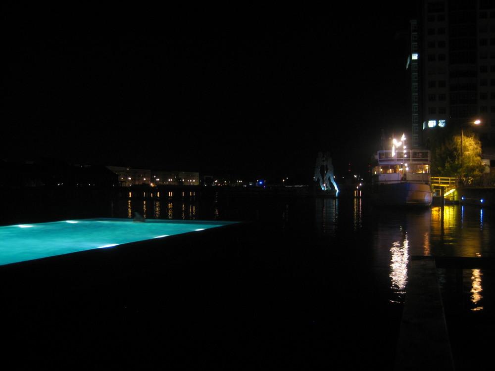 Der Pool im Fluss
