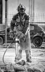 Der Preßlufthammer-Mann