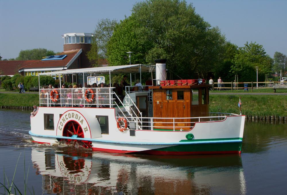 Der Raddampfer Concordia