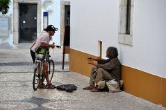 Der Radfahrer und der Musiker