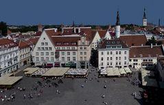 Der Rathausplatz von Tallinn