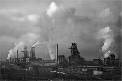 Der Rauch verbindet die Städte nicht mehr