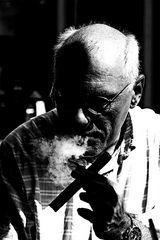 der Raucher...