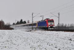Der RE13 unter Strom