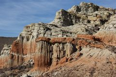 Der Red Rock Canyon State Park in Kalifornien....