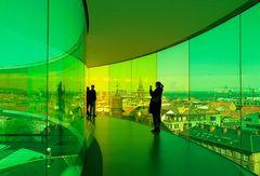 Der Regenbogen von Aarhus