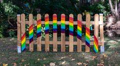 Der Regenbogenzaun
